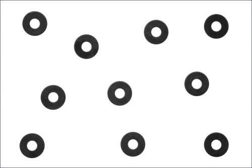 Unterlegscheiben M2.6x7x0.5mm (10) Kyosho 1189
