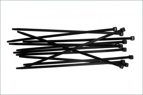 Kabelbinder gross, Schwarz (18) Kyosho 1702BK