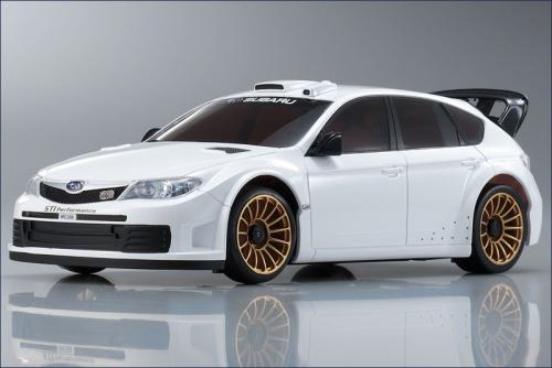 Mini-Z AWD-010 Impreza WRC2008, weiss Kyosho 30577ZW