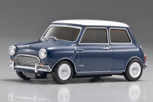 Mini-Z Lit Morris Mini-Cooper, blau Kyosho 30753BL