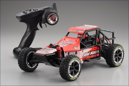 1:10 EP RTR Sandmaster Buggy, rot Kyosho 30831T1