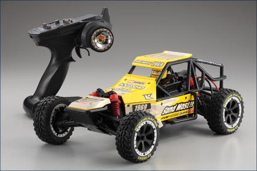 1:10 EP RTR Sandmaster Buggy, gelb Kyosho 30831T2