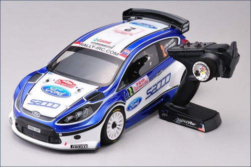 1:10 DRX VE 2010 FORD FIESTA S2000 Kyosho 30881