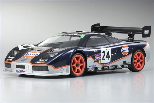 1:10 BLS 4WD Fazer McLaren F1 Gulf Hype Kyosho 30905BLS