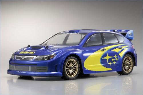 1:10 EP 4WD Subaru WR Rally 2007 Kyosho 30912