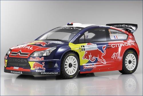 1:10 DRX Citroen C4 WRC 2008 Kyosho 31043