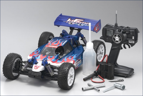 1:8 GP 4WD Inferno US Sports RTR Kyosho 31277US