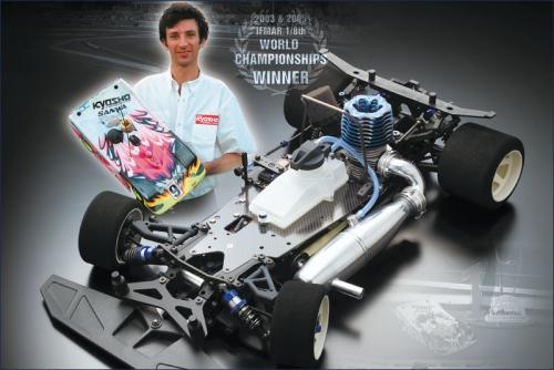 1:8 GP 4WD EVOLVA 2005 Kyosho 31284