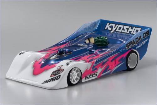1:12 GP 4WD SPADA 09 KIT Kyosho 31321