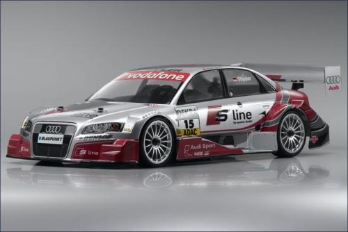 1:10 GP 4WD Fazer Audi A4 Team Abt Kyosho 31386