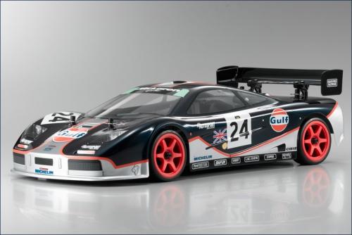 1:10 GP 4WD Fazer McLaren F1 GTR Gulf Kyosho 31398