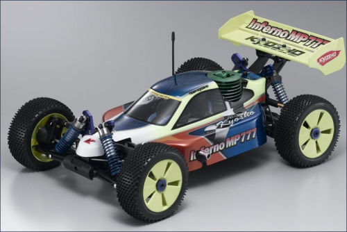1:8 GP 4WD Inferno MP777 WC Team Edit Kyosho 31780