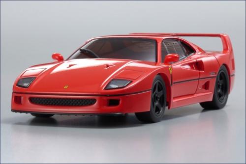 dNano Ferrari F40, rot Kyosho 32304R