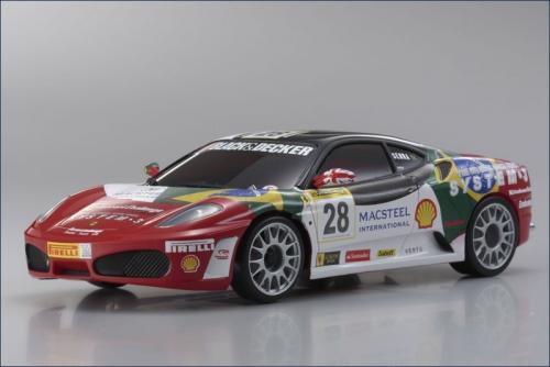 Mini-Z MR-03 BCS Ferrari F430 No28 Kyosho 32804BS