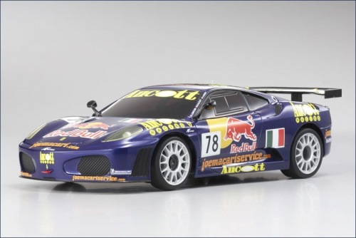 Mini-Z MR-03 Ferrari F430 GT No.78 07 Kyosho 32807A7