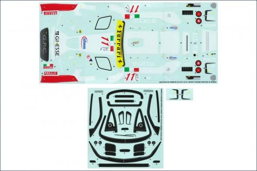 Dekorbogen Ferrari 575 GTC G.P.C. Sports Kyosho 39278-01