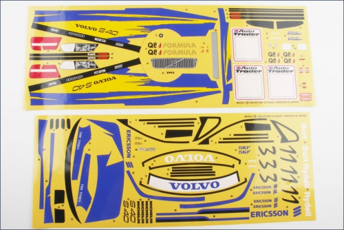 Dekorbogen 1:10 Volvo S40 97 Kyosho 39753-01