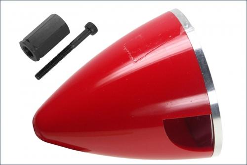 Spinner 57mm,Nylon,rot Kyosho 90421-57