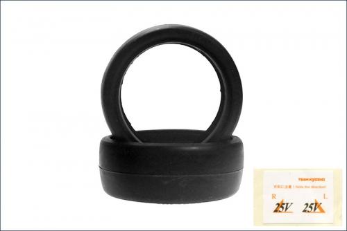 Reifen 1/10, 24mm, 25* (2) Kyosho 92014-25B