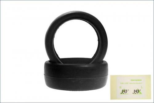 Reifen 1/10, 24mm, 35* (2) Kyosho 92014-35B
