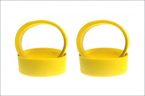 Reifeneinlage 24mm, weich, gelb (4) Kyosho 92906S