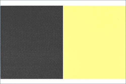 Dekorbogen Carbon, schwarz Kyosho 96711BK