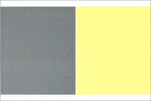 Dekorbogen Carbon, eisenfarbig Kyosho 96711GM