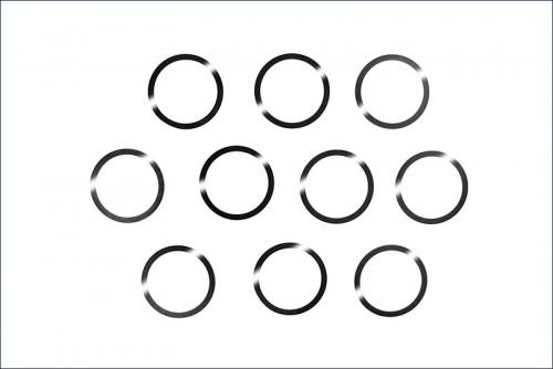 Distanzscheiben 12x18x15 mm (10) Kyosho 96947