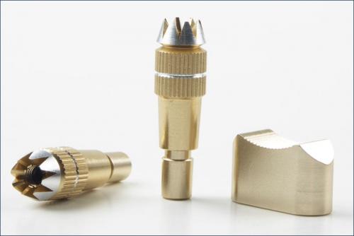 Stick Schalterkappe, Alu, gold Kyosho A0751FS-01G
