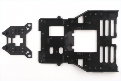 Chassis vorn, Racing Kyosho AZ-102