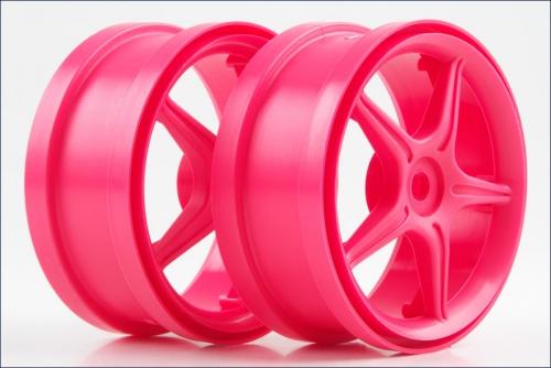 Felge 1:8 5Stern,AD,80,B40,pink (2) Kyosho BSW-80KP