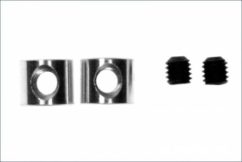 Stabilisatorstellringe 1,5x6x5mm, M24 Kyosho CA-1009