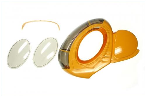 Verglasung Caliber M24 Schweizer 300C Kyosho CA-1030-01