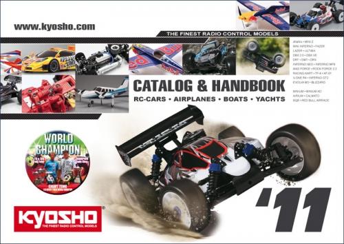 Katalog Kyosho 2011, englisch Hype Kyosho CO-2011E