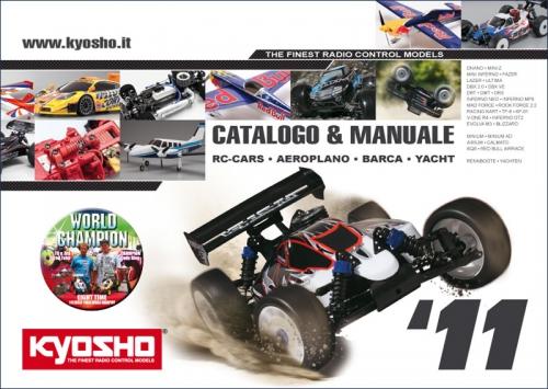 Katalog Kyosho 2011, italienisch Hype Kyosho CO-2011IT