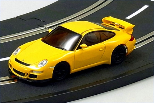 Slotcar Porsche 911 GT3, gelb Kyosho D1431090106