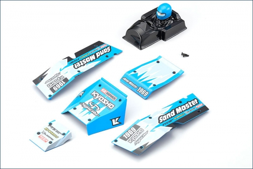 Karosserieteile blau Kyosho EZ005BL