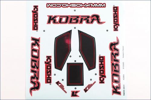 Dekorbogen Kobra Kyosho FAD-201