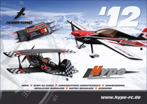 Hauptkatalog HYPE 2012 italienisch Hype Kyosho HY-2012ITA