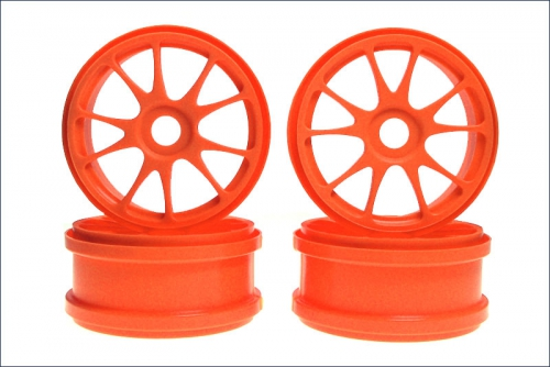 Felge MP777, fluo. orange (4) Kyosho IFH-002KO
