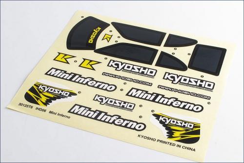 Dekorbogen Mini Inferno Kyosho IHD-06