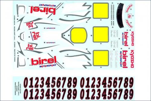 Dekorbogen Birel R31-SE Kyosho KTD-001