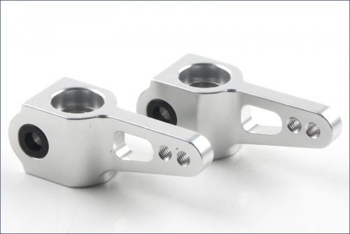 Lenkhebel L/R, silber, aluminium Kyosho KTW-001