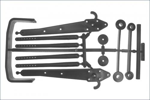 Karosseriestuetzen inkl. Rammer Kyosho MA-022B