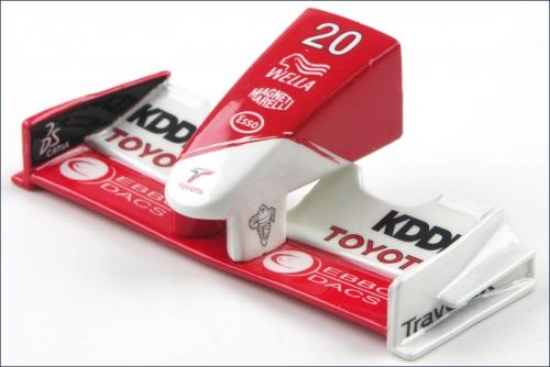 Frontfluegel 1:24 Pan. Toyota TF103,Nr20 Kyosho MFB-21-02F