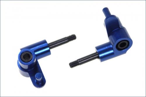 Lenkhebel Alu, blau 1* Kyosho MFW-10-01