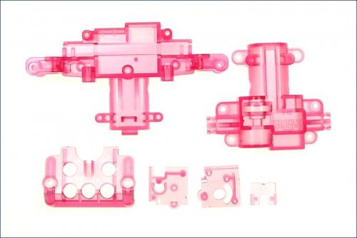 Servogehaeuse rot-transparent Kyosho MMF-03-CP