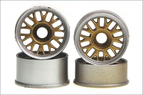 Felge 1:24BBS,gold 8,5/11mm (4) Kyosho MZ-38GL