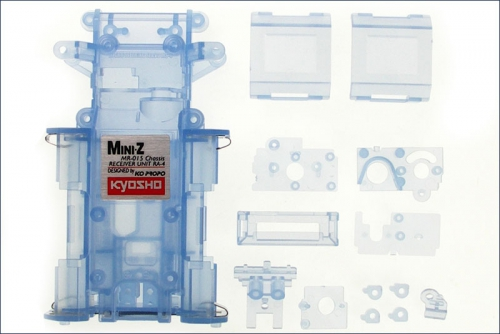 Chassis MR-015, blau-transparent Kyosho MZF-151-CB