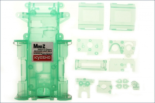 Chassis MR-015, gruen-transparent Kyosho MZF-151-CG